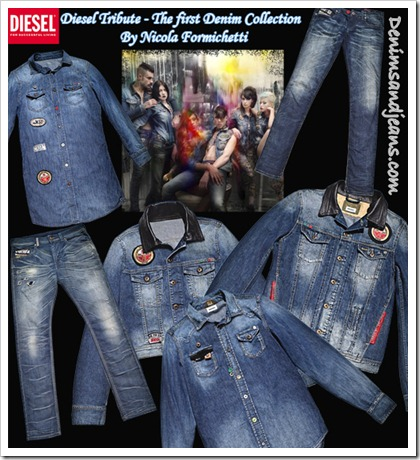 Diesel Tribute – The first Denim Collection by Nicola Formichetti