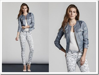 7 For All Mankind Spring Summer 2014 Women's Lookbook