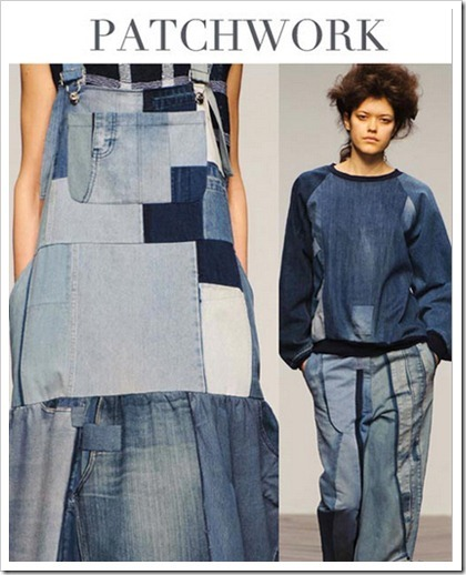 Denim Trends AW14/15 China/patchwork
