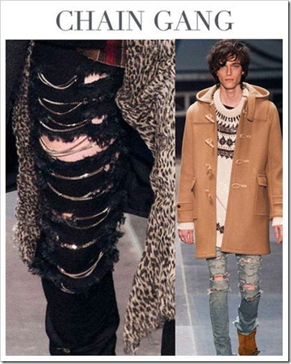 Denim Trends AW14/15 China/chain gang