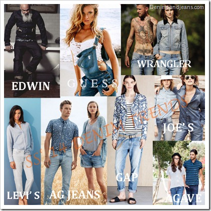 Spring summer 14 Denim Trends