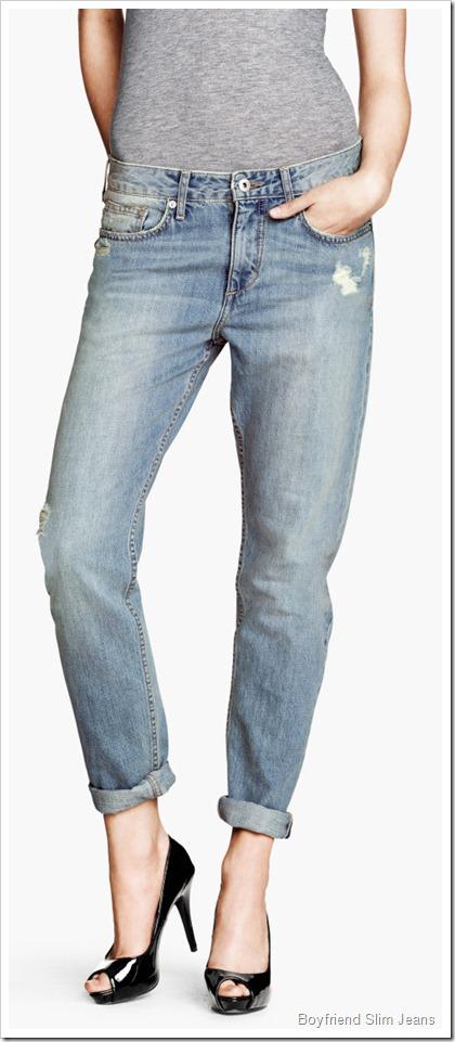 H&M/Boyfriend Slim Jeans