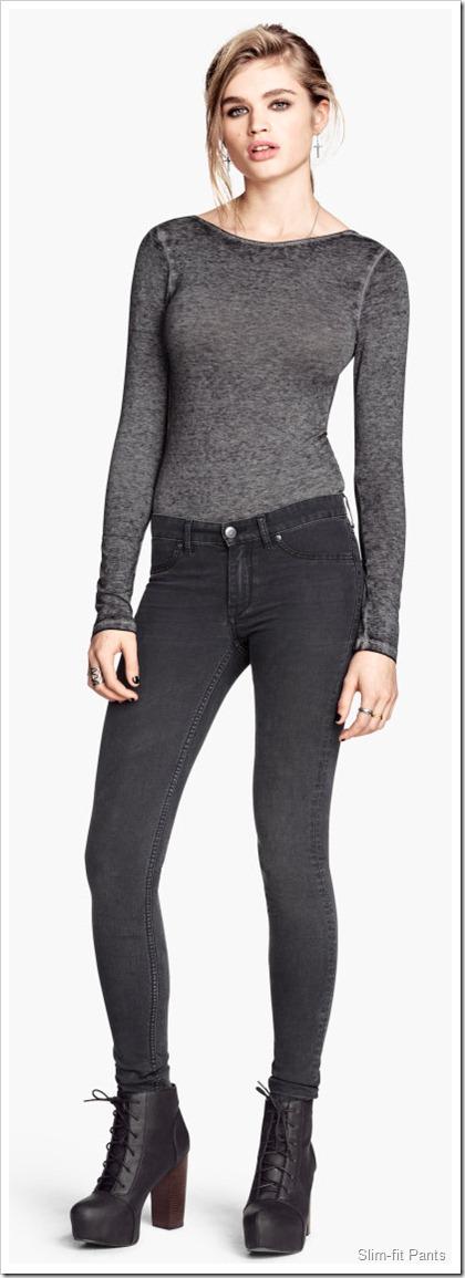 H&M/Slim-fit Pants