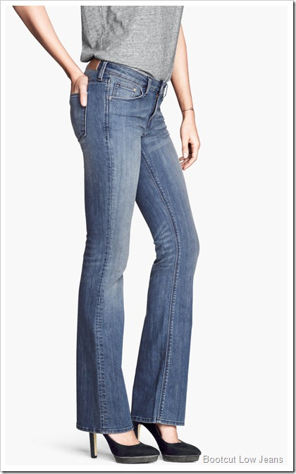 H&M/Bootcut Low Jeans
