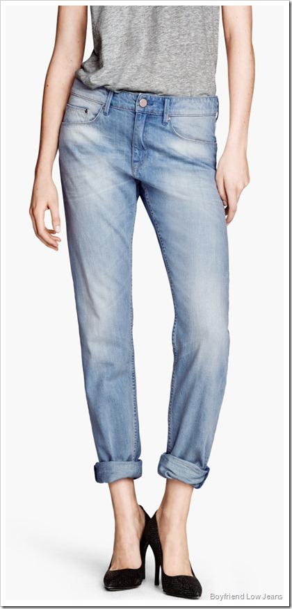 H&M/Boyfriend Low Jeans