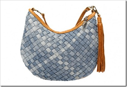 Recycled Denim handbag