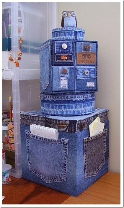 Recycled Denim Homemade items