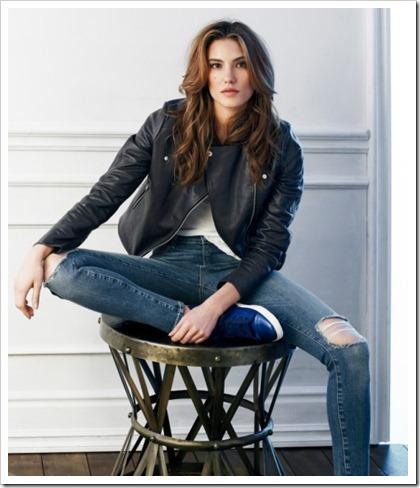 Paige Denim Fall Winter 2014 Women's Lookbook