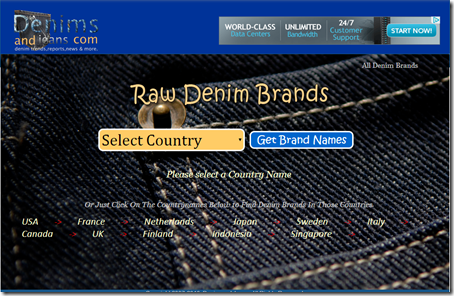 Raw Denim Brands Worldwide