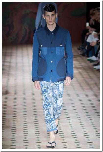 Junya Watanabe Spring Summer 2015 Denim Looks