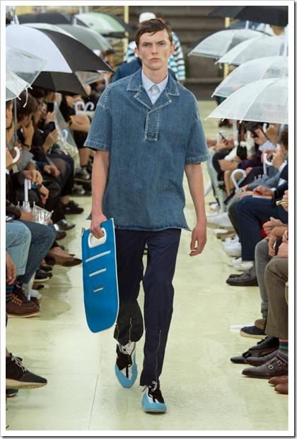 Kenzo Spring Summer 2015 Denim Looks
