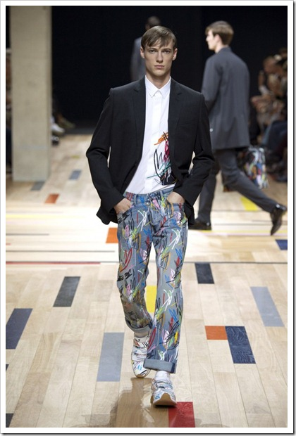 Dior Homme Spring Summer 2015 Denim Looks