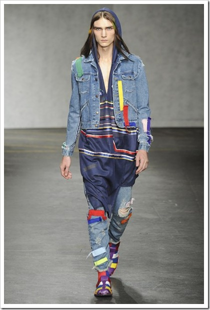 James Long Spring Summer 2015 Denim Looks