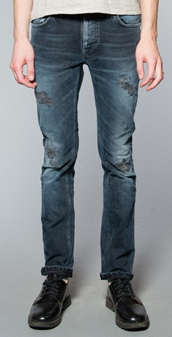 photo Nudie Jeans Thin Finn: Back 2 Black Jeans