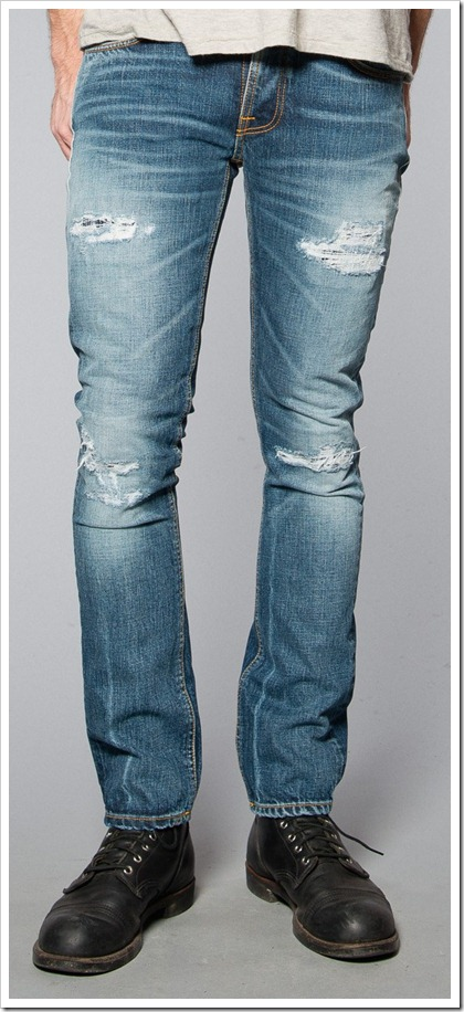 Nudie Jeans Fall Winter 2014 - GRIM TIM VILLE REPLICA