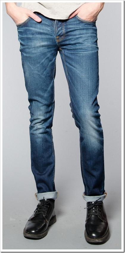 Nudie Jeans Fall Winter 2014 - GRIM TIM COLD CRISP