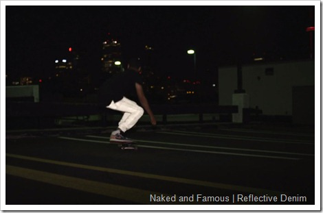 naked and famous reflective denim