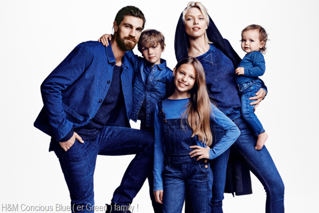 h And m Concious Denim Family