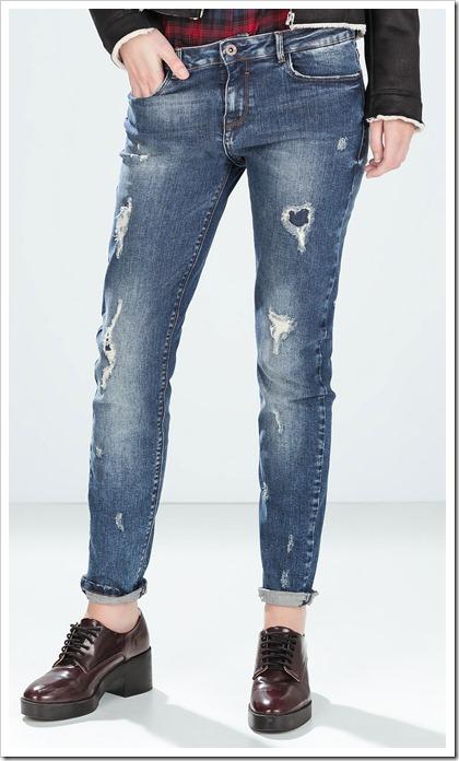 Zara-Cigarette jeans
