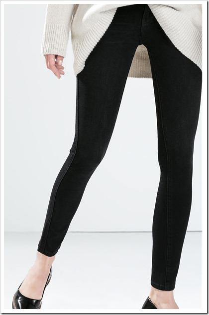Zara-Tight fit skinny jeans