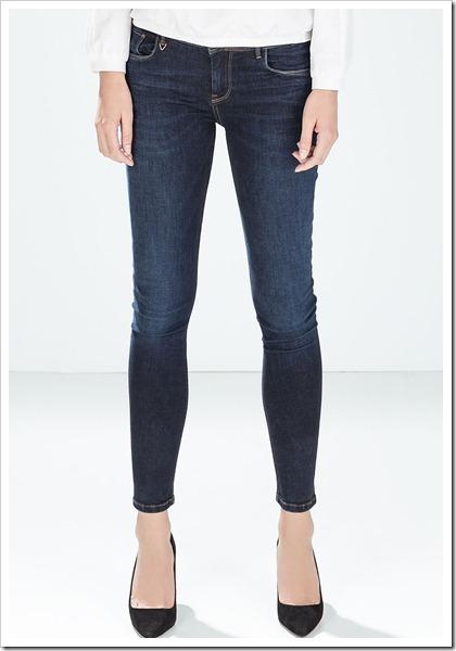 Zara-Cropped Jeans