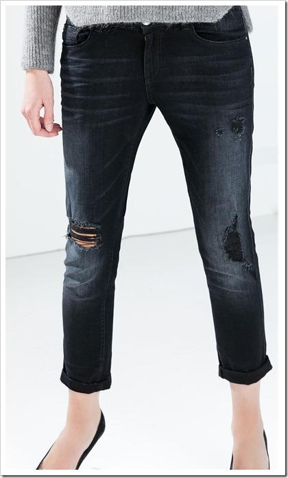 Zara-Boyfriend Jeans