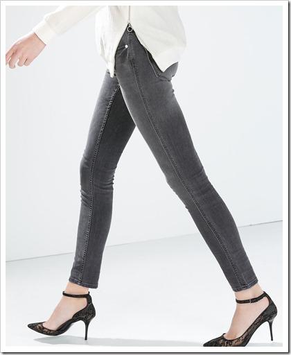 Zara-Low Waist Jeans