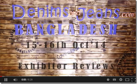 denimsandjeans bangladesh exhibitor reviews