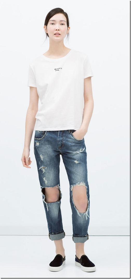 Boyfriend Jeans - Zara | Denimsandjeans.com