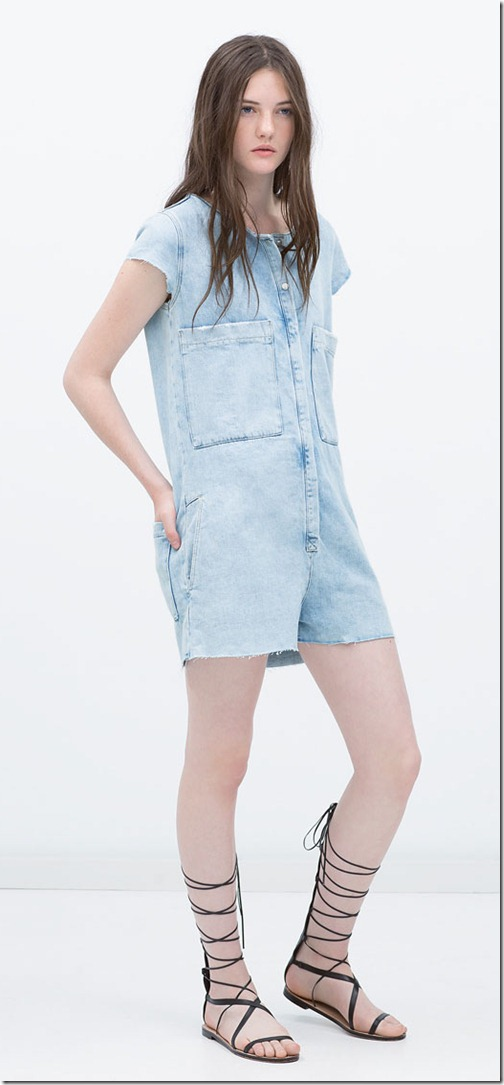Denim jumpsuit 1