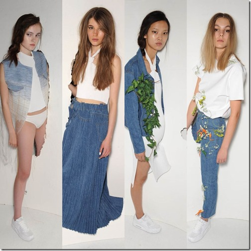 Faustine Steinmetz London fashion week ss/16  denimsandjeans.com