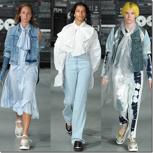 MM6 Maison Margiela  London fashion week ss/16  denimsandjeans.com