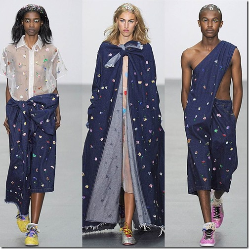 shish London fashion week ss/16  denimsandjeans.com