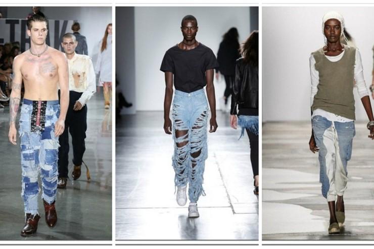 NY Fashion Week  Denim Looks – II