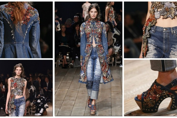 Alexander McQueen Womenswear Spring
