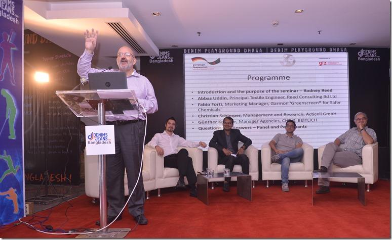 Profitable environmentally sustainable denim washing by PSES | GIZ