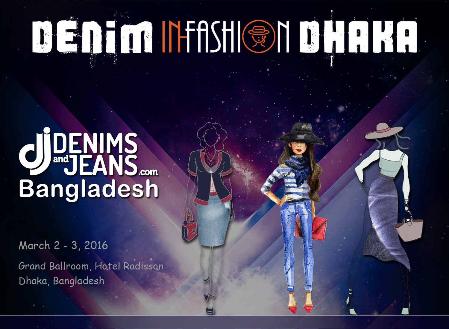 Denim In-Fashion Dhaka | 2nd-3rd March, 2016