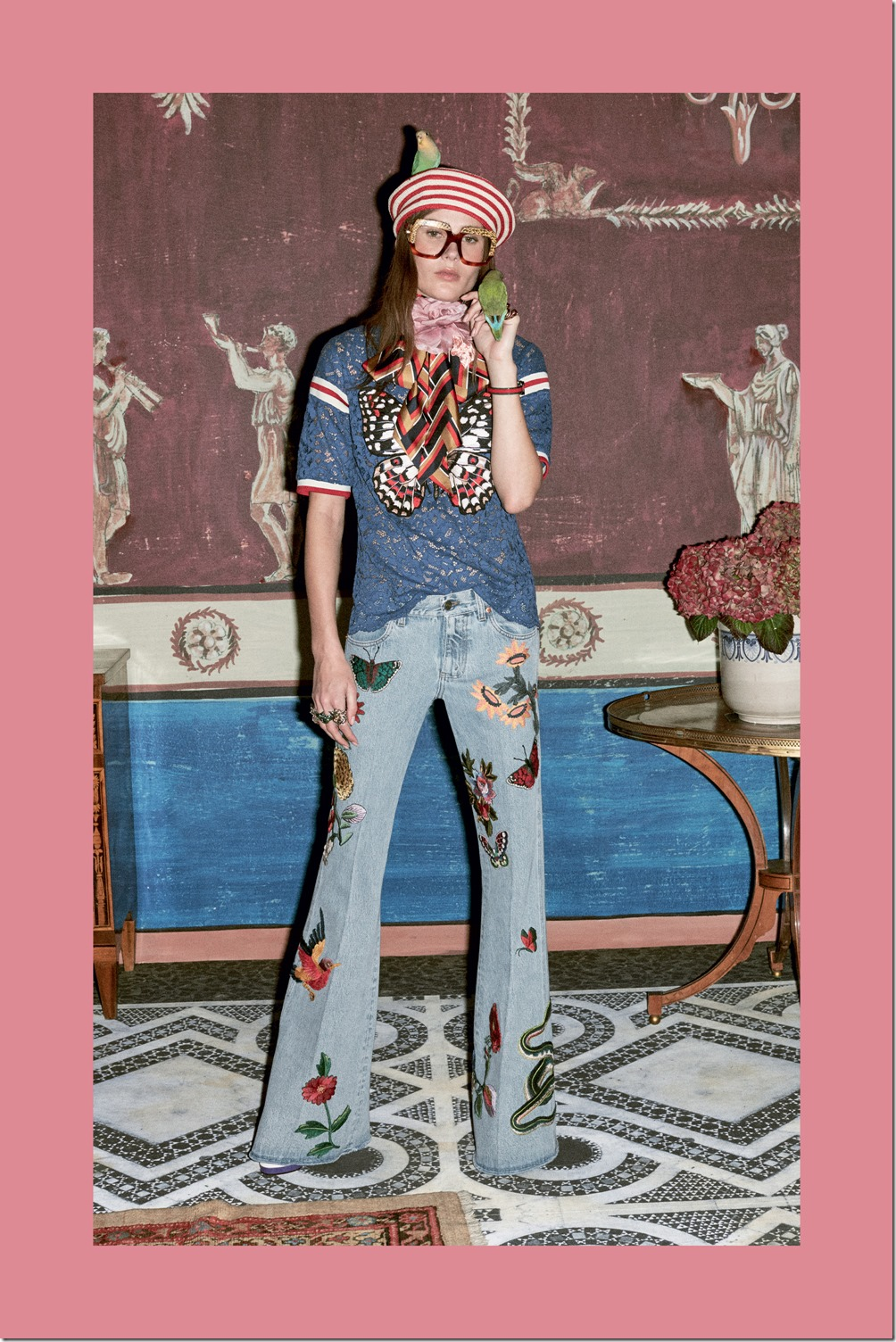 Gucci PRE-FALL 2016 Denim Trends