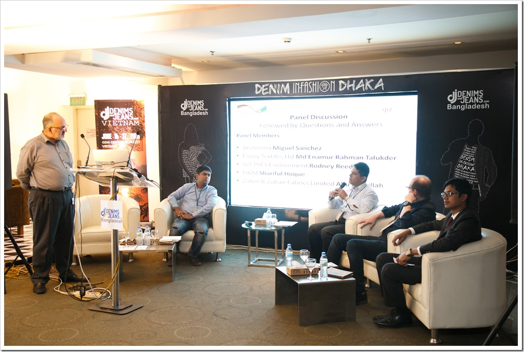 A panel discussion organized by GIZ – PSES and moderated by Rodney Reed :Denimsandjeans.com