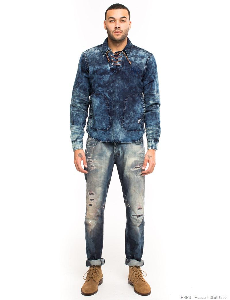 PRPS- Peasant Shirt -$350