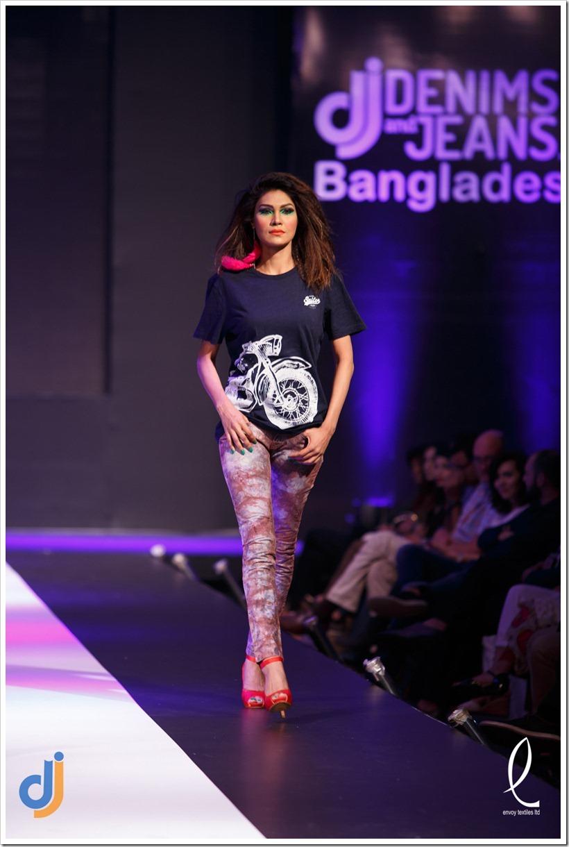 Envoy at 5th Edition of Denimsandjeans.com Bangladesh Show