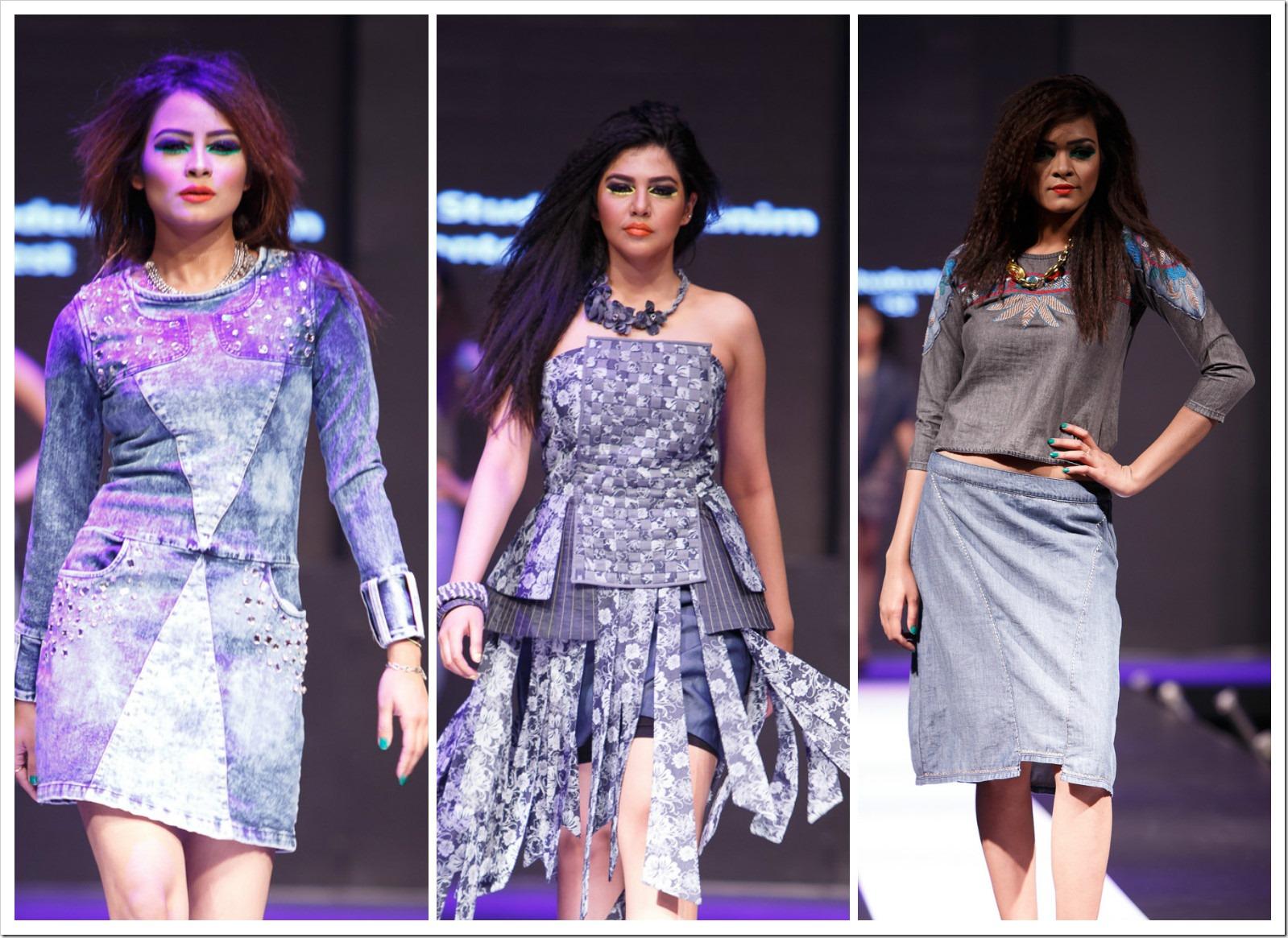 Bangladesh Fashion Students' Denim Design Contest Fashion Show at 5th Denimsandjeans.com Bangladesh Show