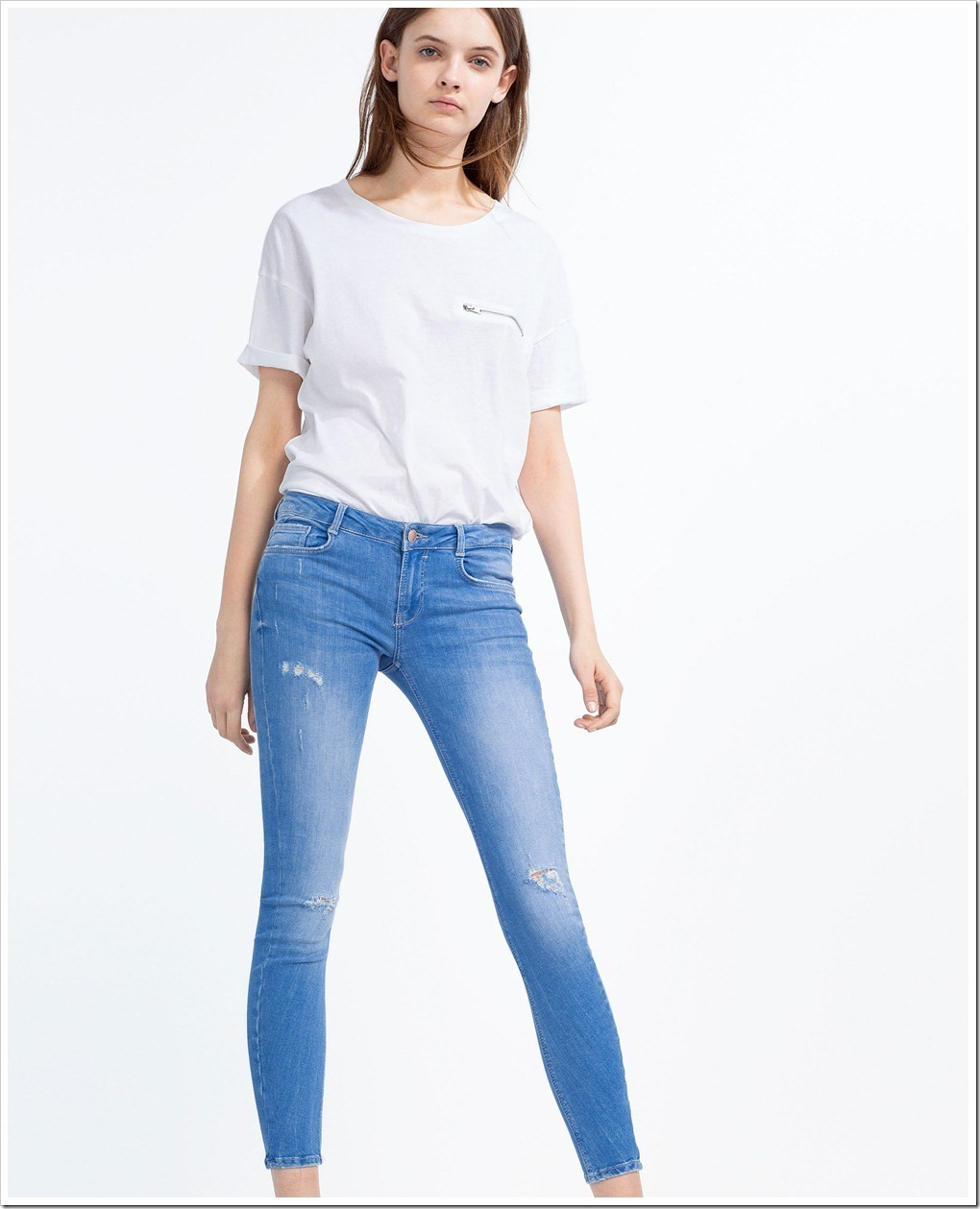 SS16 Denim styles from Zara  Zara Collection - Denim Jeans | Trends News and Reports | Worldwide