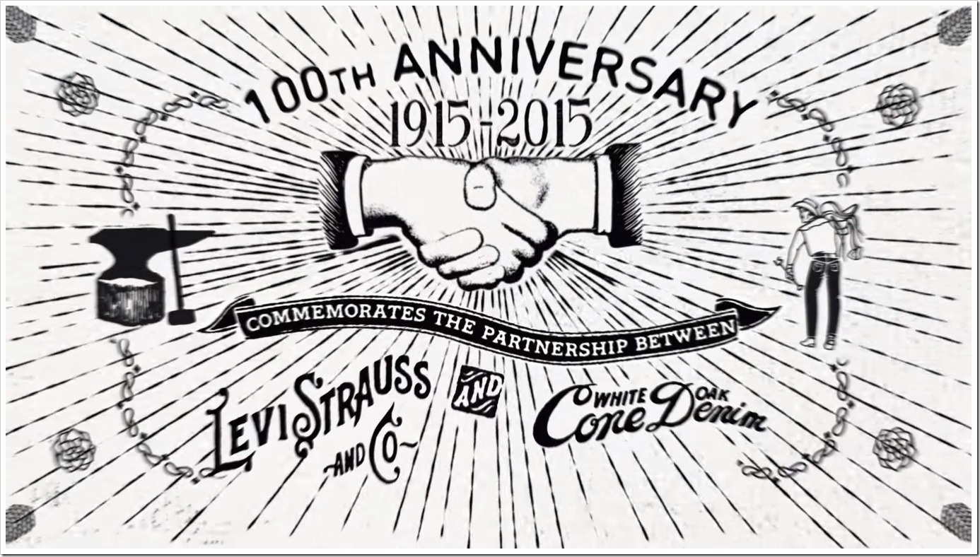 Levi's 501 Jeans : Celebrating 100 Years With Cone Denim