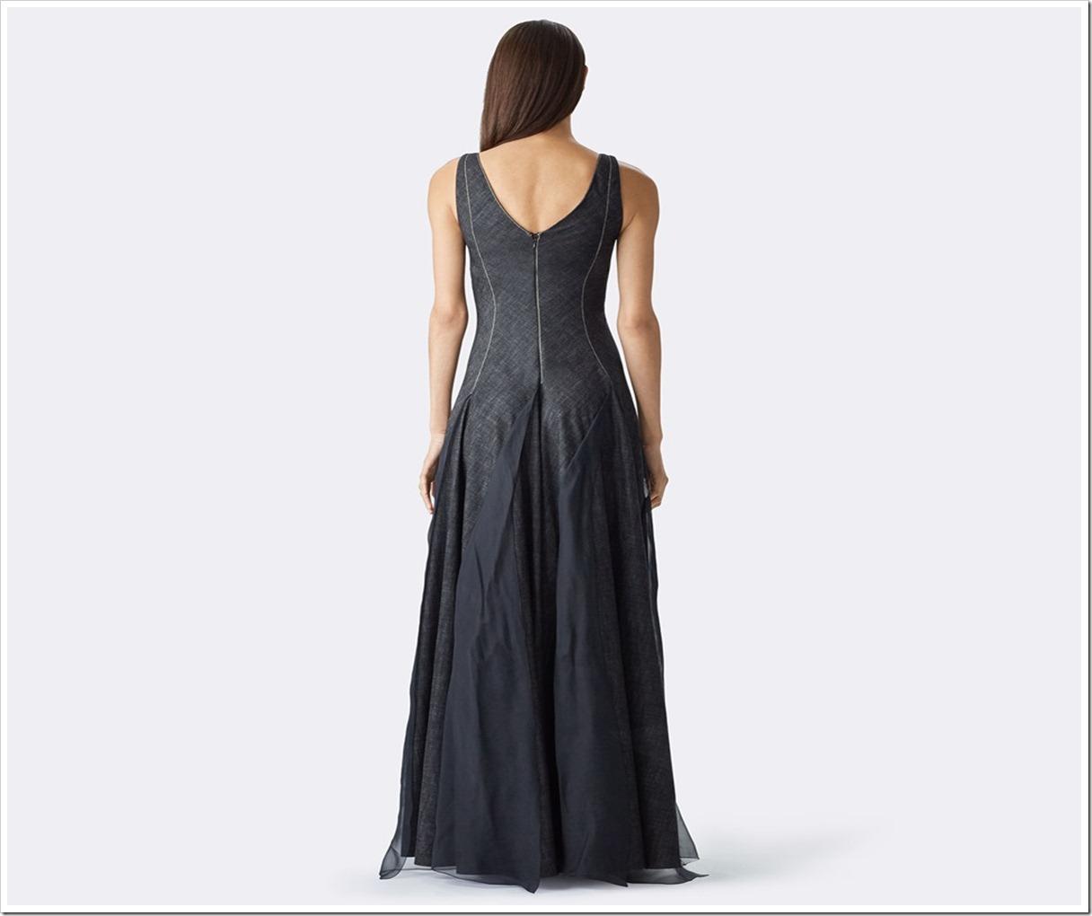 Ralph Lauren Denim : lianne denim evening gown
