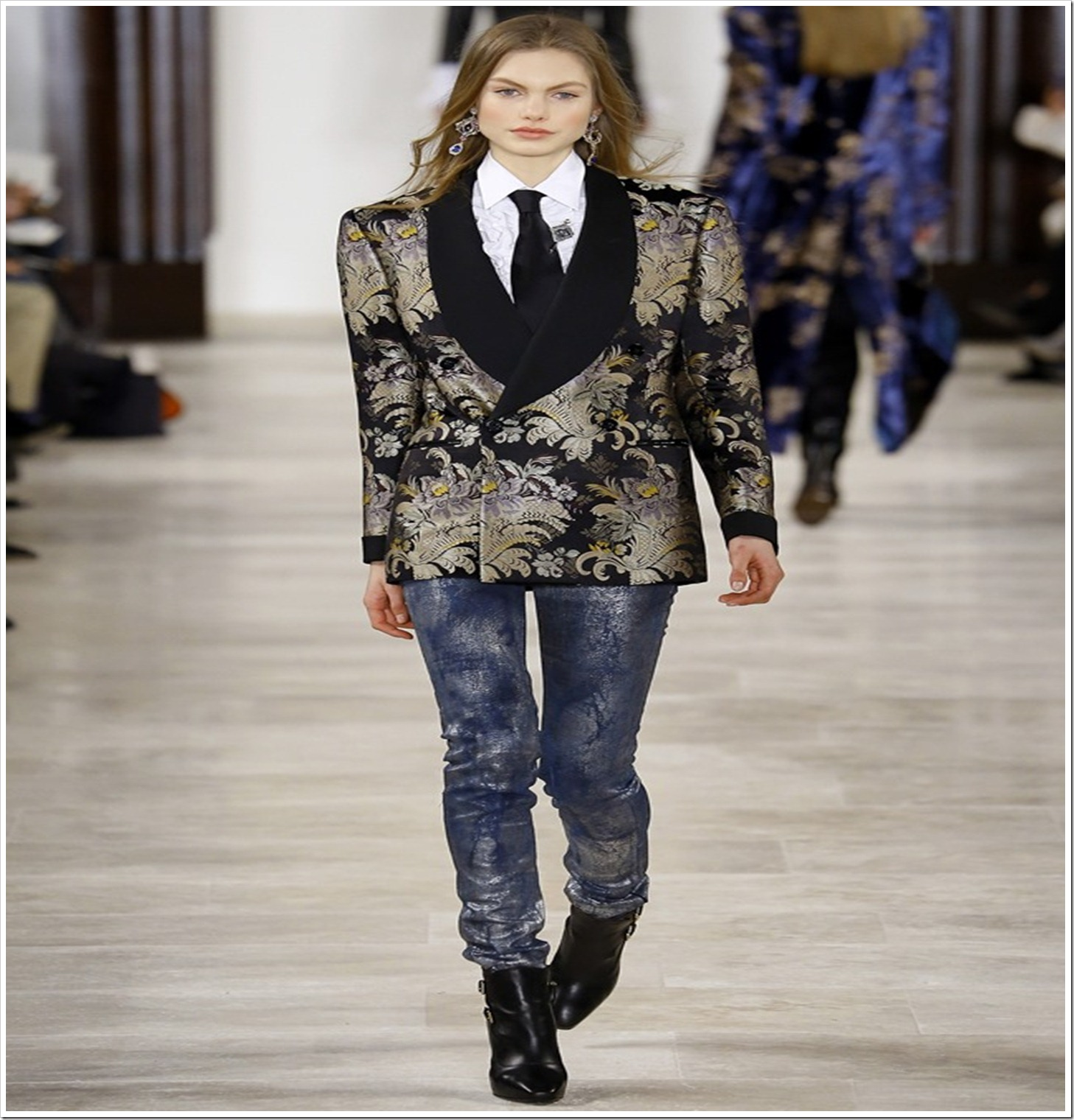 Ralph Lauren : Fall 2016 Ready-To-Wear