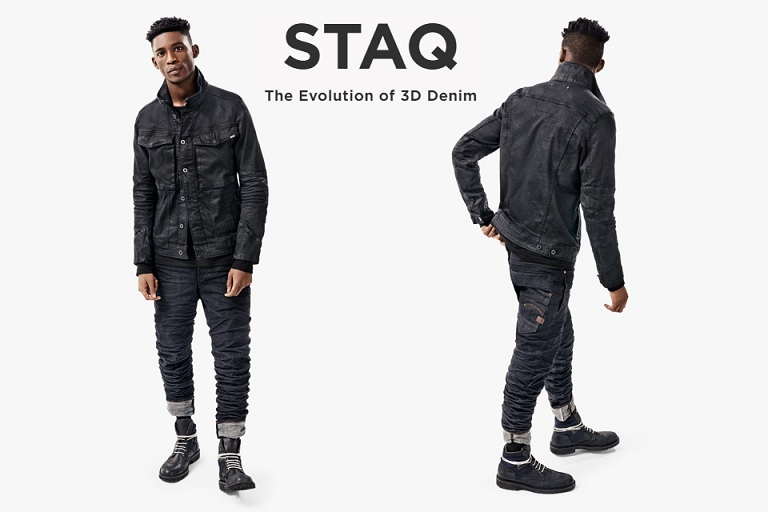 G-Star Raw : The Staq(ck)ing Effect !