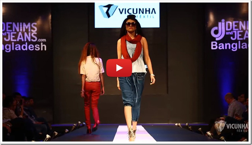 Vicunha At 5th Edition of Denimsandjeans.com Bangladesh Show