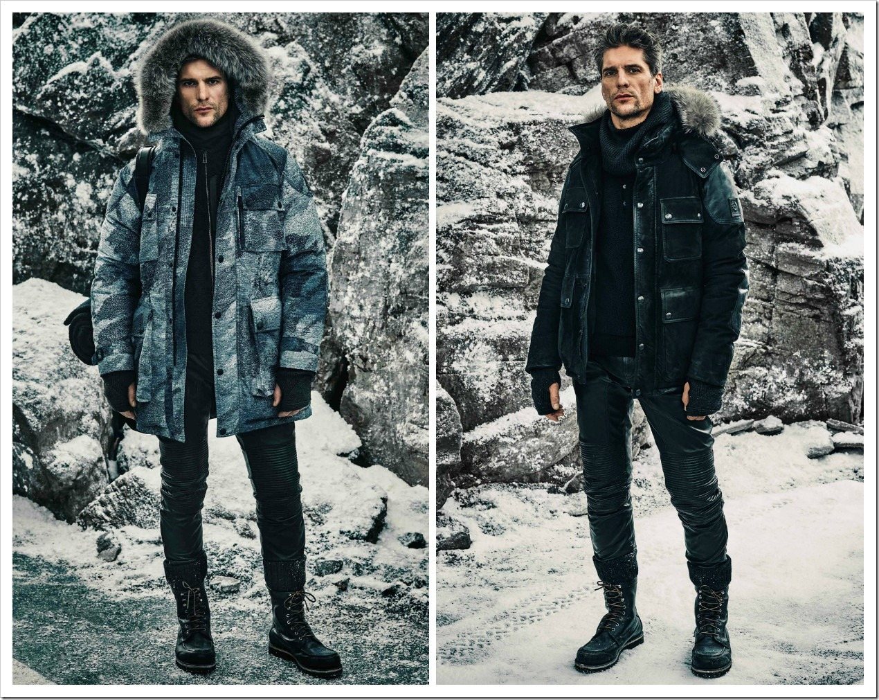 Belstaff Menswear Collection at Fall 2016