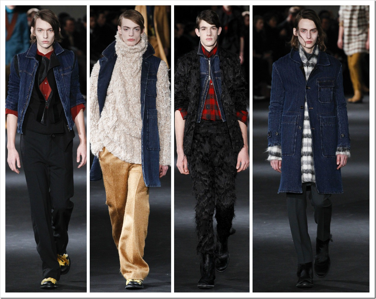 Ann Demeulemeester Menswear Collection at Fall 2016